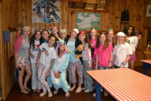 Camp Runoia Dress Up for Dinner