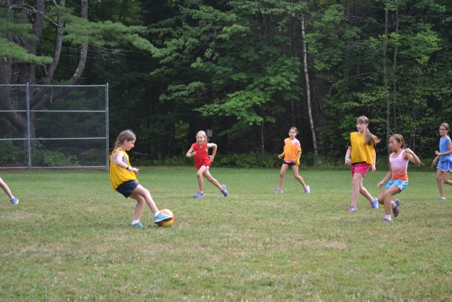 Soccer Skills and Fitness at Camp!