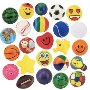 Stress balls are easy to pack